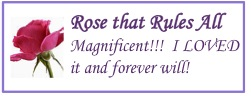 logo - romancing the book rose that rules all